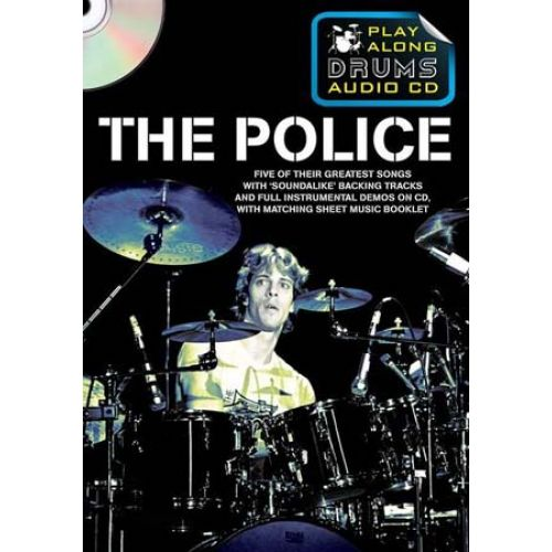 WISE PUBLICATIONS POLICE - PLAY ALONG DRUMS AUDIO + CD - DRUMS