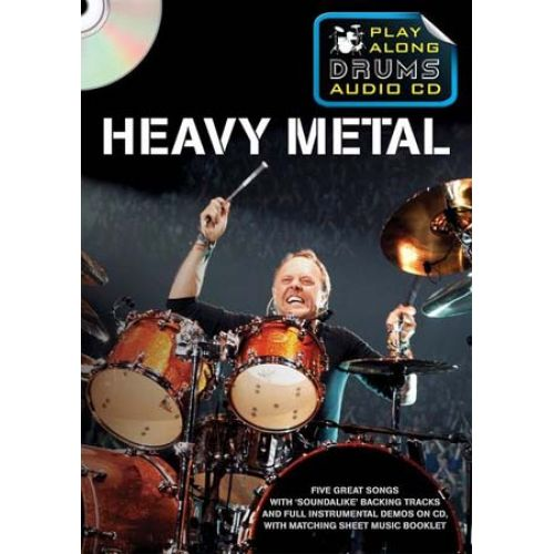 WISE PUBLICATIONS PLAY ALONG DRUMS AUDIO + CD - HEAVY METAL - DRUMS