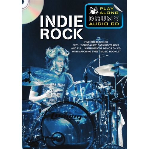 WISE PUBLICATIONS PLAY ALONG DRUMS AUDIO CD - INDIE ROCK - DRUMS