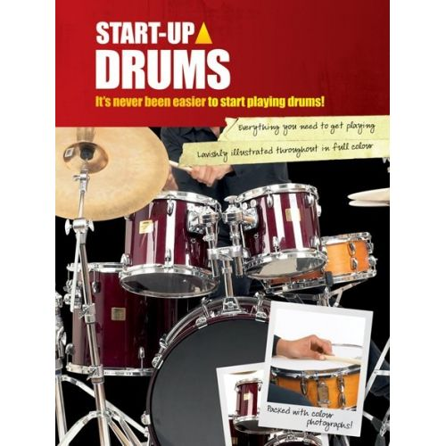 WISE PUBLICATIONS STARTUP DRUMS DRMS - DRUMS