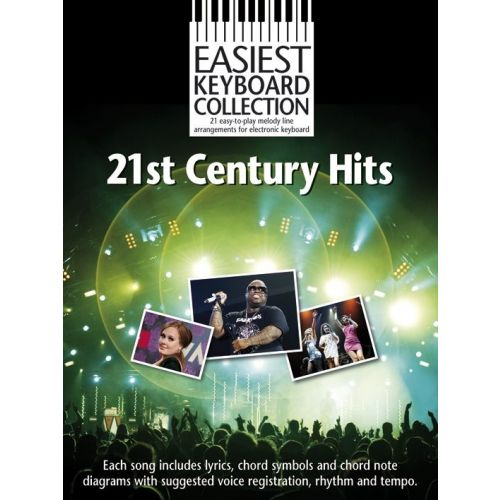WISE PUBLICATIONS 21ST CENTURY HITS - KEYBOARD