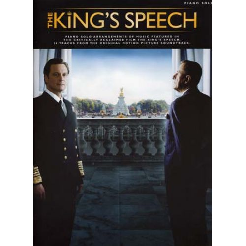 WISE PUBLICATIONS KING'S SPEECH - PIANO SOLO