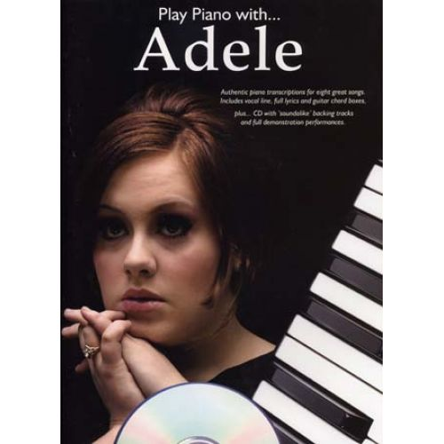 WISE PUBLICATIONS ADELE - PLAY PIANO WITH + CD - PIANO
