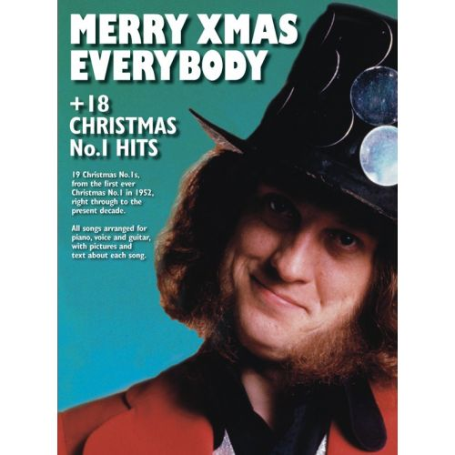 WISE PUBLICATIONS MERRY CHRISTMAS EVERYBODY +18 CHRISTMAS NO.1 HITS - PVG