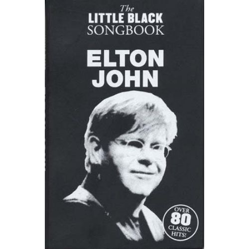 WISE PUBLICATIONS JOHN ELTON - LITTLE BLACK SONGBOOK
