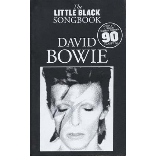 WISE PUBLICATIONS BOWIE DAVID - LITTLE BLACK SONGBOOK
