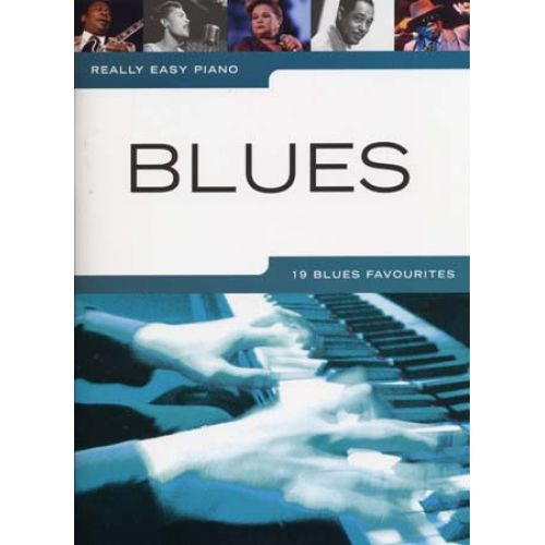 WISE PUBLICATIONS REALLY EASY PIANO BLUES