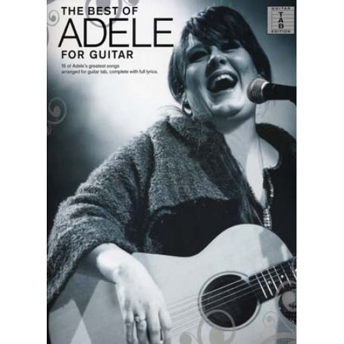 WISE PUBLICATIONS ADELE - BEST OF FOR GUITAR TAB