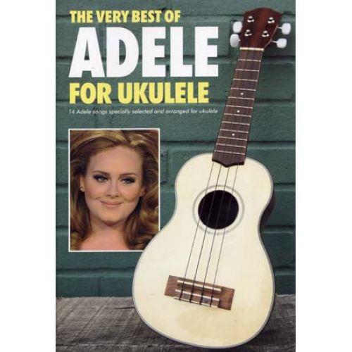 WISE PUBLICATIONS ADELE - VERY BEST OF FOR UKULELE