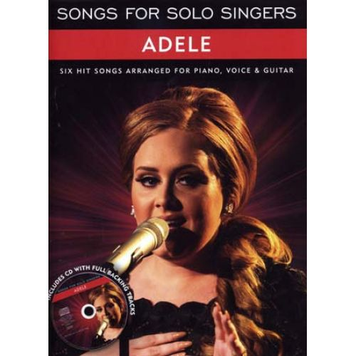 WISE PUBLICATIONS ADELE - SONGS FOR SOLO SINGERS - PVG