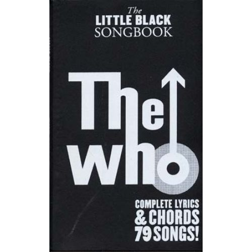 WISE PUBLICATIONS WHO THE - LITTLE BLACK SONGBOOK 79 SONGS - GUITAR