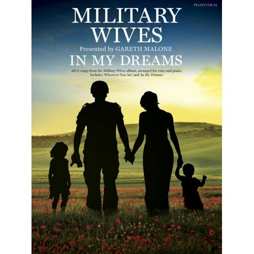 WISE PUBLICATIONS MILITARY WIVES - IN MY DREAMS - PVG