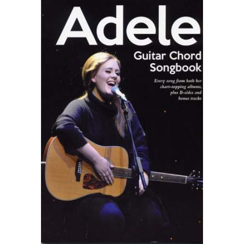 WISE PUBLICATIONS ADELE - GUITAR CHORD SONGBOOK