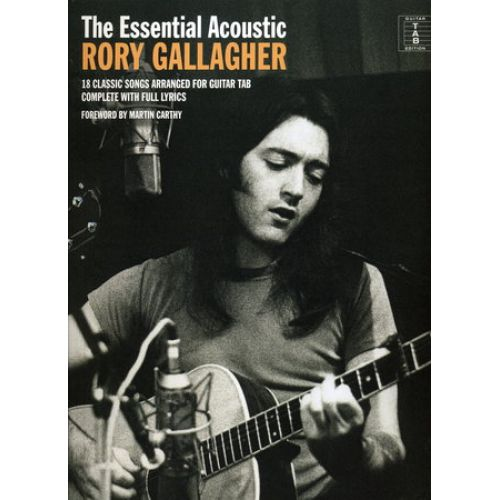 MUSIC SALES GALLAGHER RORY - ESSENTIAL ACOUSTIC - GUITAR TAB