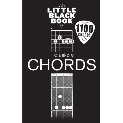 WISE PUBLICATIONS THE LITTLE BLACK BOOK OF CHORDS - GUITAR