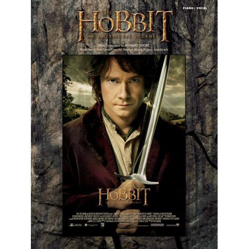 WISE PUBLICATIONS HOWARD SHORE - THE HOBBIT - AN UNEXPECTED JOURNEY - PIANO AND VOCAL
