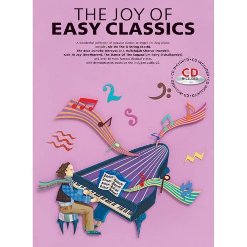 YORKTOWN THE JOY OF EASY CLASSICS - PIANO SOLO