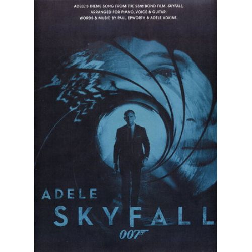 MUSIC SALES ADELE - SKYFALL - FORMAT PVG