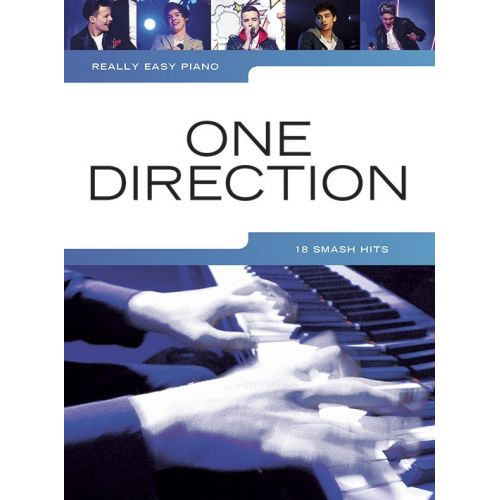 WISE PUBLICATIONS ONE DIRECTION - REALLY EASY PIANO - ONE DIRECTION - PIANO SOLO