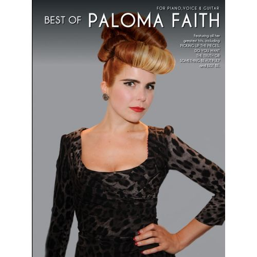 WISE PUBLICATIONS PALOMA FAITH - BEST OF PALOMA FAITH - PVG