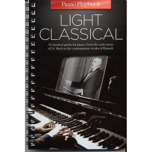 MUSIC SALES PIANO PLAYBOOK - LIGHT CLASSICAL - PIANO