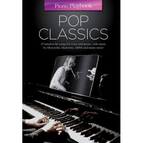 MUSIC SALES PIANO PLAYBOOK - POP CLASSICS - PIANO