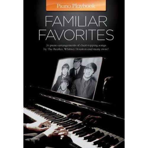 MUSIC SALES PIANO PLAYBOOK - FAMILIAR FAVORITES - PIANO