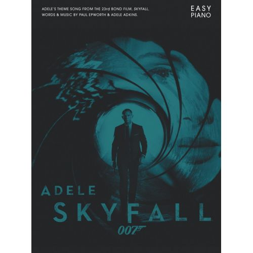 MUSIC SALES ADELE SKYFALL EASY PIANO SHEET - PIANO SOLO