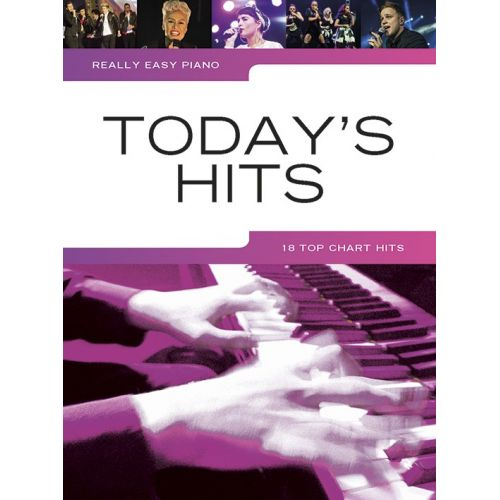 WISE PUBLICATIONS REALLY EASY PIANO - TODAY'S HITS - PIANO SOLO