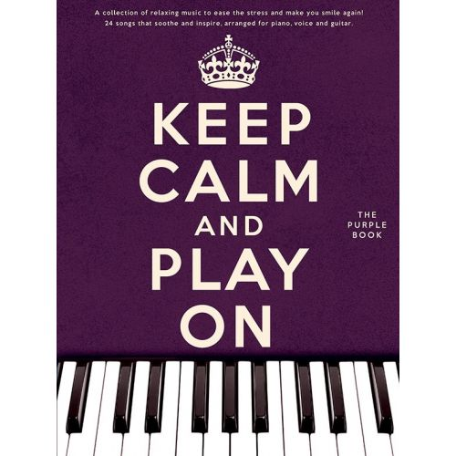WISE PUBLICATIONS KEEP CALM AND PLAY ON - PVG