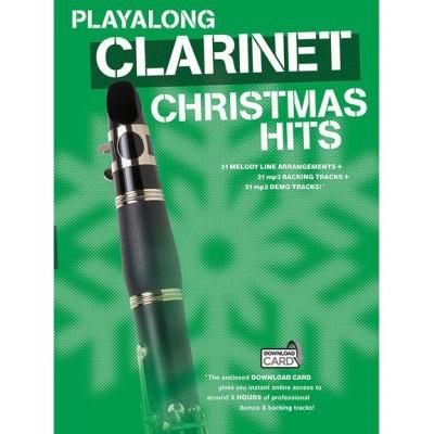 WISE PUBLICATIONS MAX RAABE - PLAY ALONG CLARINET CHRISTMAS HITS - CLARINET