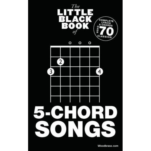WISE PUBLICATIONS LITTLE BLACK BOOK OF 5-CHORD SONGS