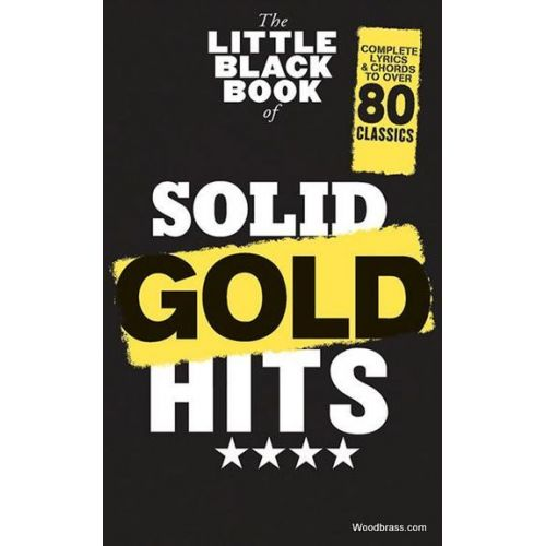 WISE PUBLICATIONS LITTLE BLACK BOOK OF SOLID GOLD HITS
