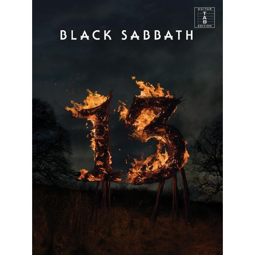 WISE PUBLICATIONS BLACK SABBATH - BLACK SABBATH - 13 - GUITAR