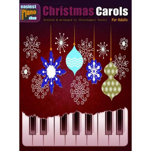 WISE PUBLICATIONS EASIEST PIANO ALBUM - CHRISTMAS CAROLS - FOR ADULTS - PIANO SOLO