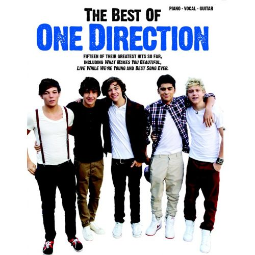 WISE PUBLICATIONS ONE DIRECTION - BEST OF ONE DIRECTION - PVG