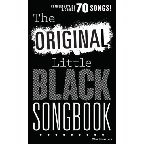 WISE PUBLICATIONS THE ORIGINAL LITTLE BLACK SONGBOOK