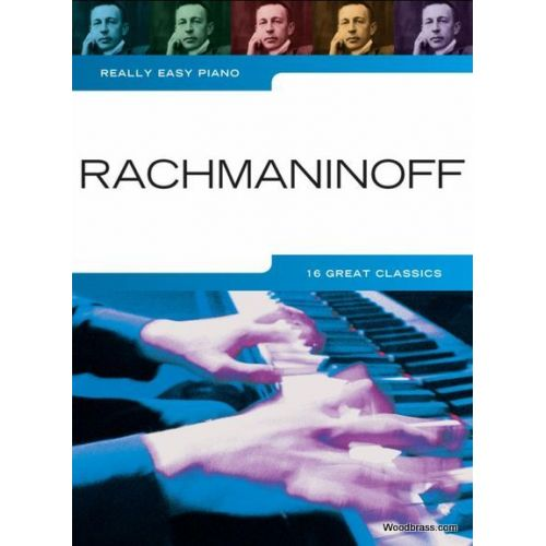 WISE PUBLICATIONS REALLY EASY PIANO - RACHMANINOFF