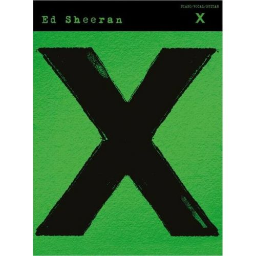 MUSIC SALES SHEERAN ED - X - GUITAR TAB