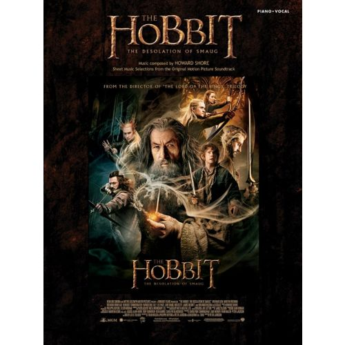 MUSIC SALES SHORE HOWARD - THE HOBBIT : DESOLATION OF SMAUG - PIANO
