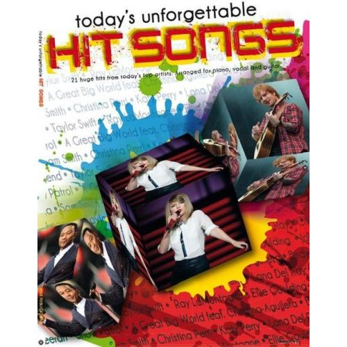 AMSCO TODAY'S UNFORGETTABLE HIT SONGS - PVG