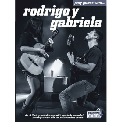 WISE PUBLICATIONS RODRIGO Y GABRIELA - PLAY GUITAR WITH - GUITAR TAB