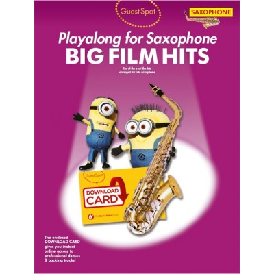WISE PUBLICATIONS GUEST SPOT - BIG FILM HITS - SAXOPHONE PLAYALONG