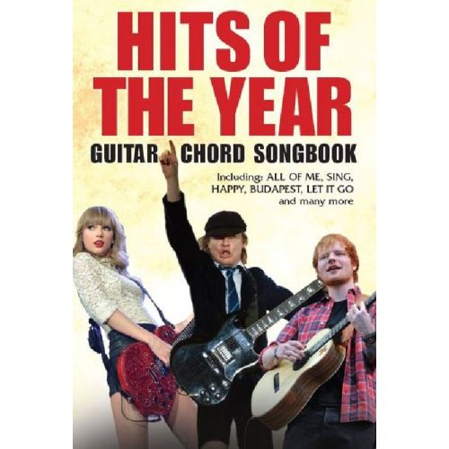 MUSIC SALES HITS OF THE YEAR GUITAR CHORD SONGBOOK