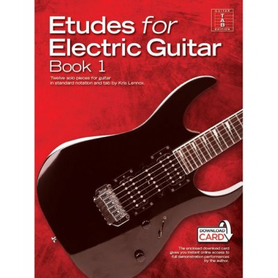 WISE PUBLICATIONS KRIS LENNOX - ETUDES FOR ELECTRIC GUITAR BOOK 1