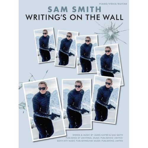 WISE PUBLICATIONS SAM SMITH - WRITING'S ON THE WALL - FORMAT PVG