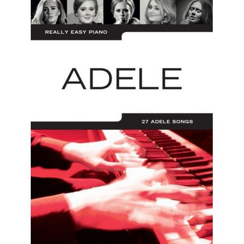 WISE PUBLICATIONS ADELE - REALLY EASY PIANO