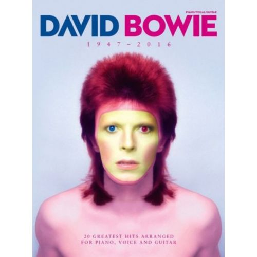 MUSIC SALES DAVID BOWIE 1947 - 2016 - PVG
