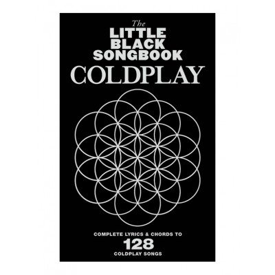 WISE PUBLICATIONS LITTLE BLACK SONGBOOK - COLDPLAY - PAROLES & ACCORDS