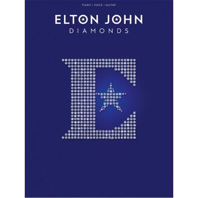 WISE PUBLICATIONS ELTON JOHN - DIAMONDS - PVG